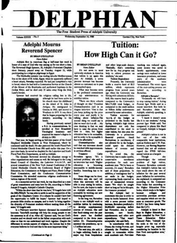 The Delphian, September 14, 1988