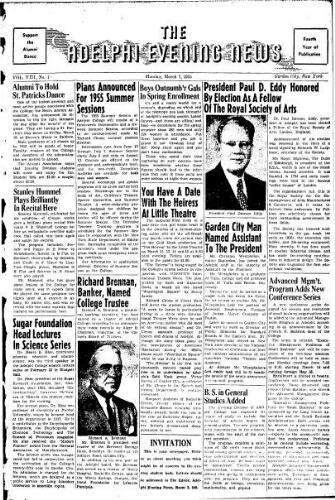 Adelphi Evening News 1955-03-07