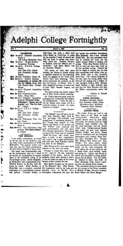 Fortnightly May 04, 1922