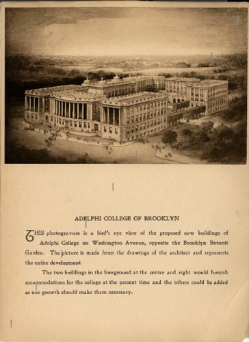 Proposed Brooklyn campus of Adelphi College