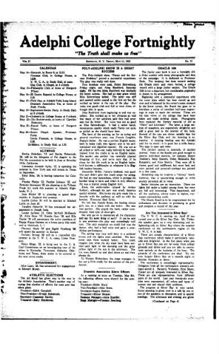 Fortnightly May 11, 1923