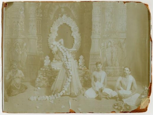 "Ruth St. Denis  Temple Scene from ""Radha"""