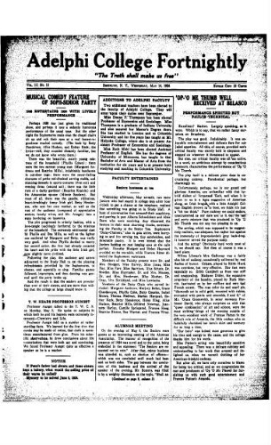 Fortnightly May 14, 1924