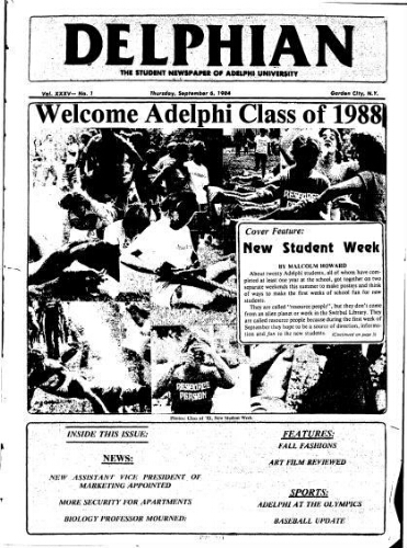 The Delphian, September 06, 1984