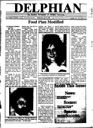 The Delphian, April 20, 1988