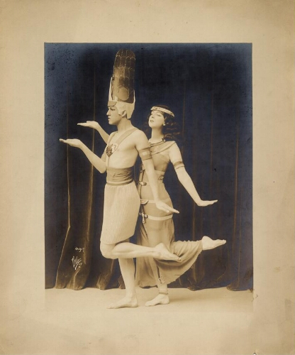 "Ted Shawn and Ruth St. Denis ""The Egyptian Ballet"""