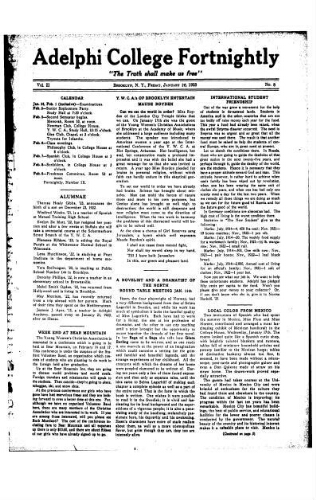 Fortnightly January 26, 1923