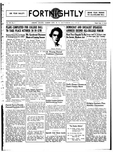 Fortnightly October 23, 1936