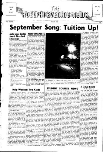 Adelphi Evening News 1965-03