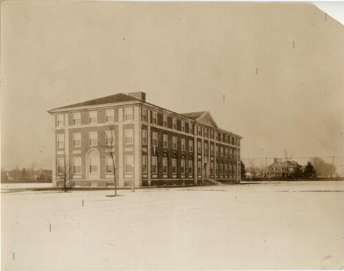 Levermore Hall, eastern view
