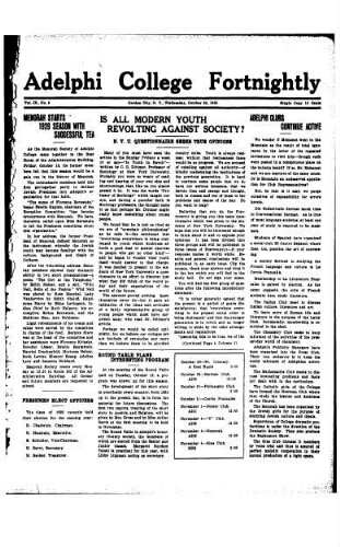 Fortnightly October 30, 1929