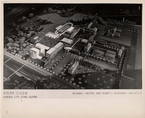 Neutra Master Plan for Adelphi College