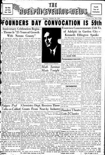 Adelphi Evening News 1954-10-25