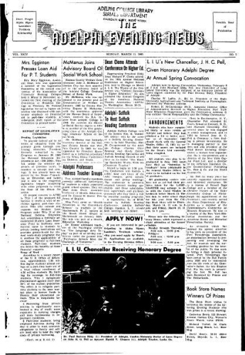 Adelphi Evening News 1963-03-11
