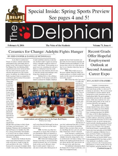 The Delphian, February 8, 2016