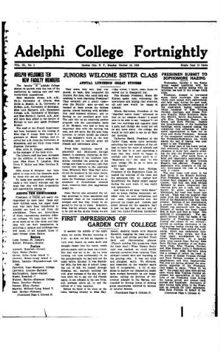 Fortnightly October 14, 1929