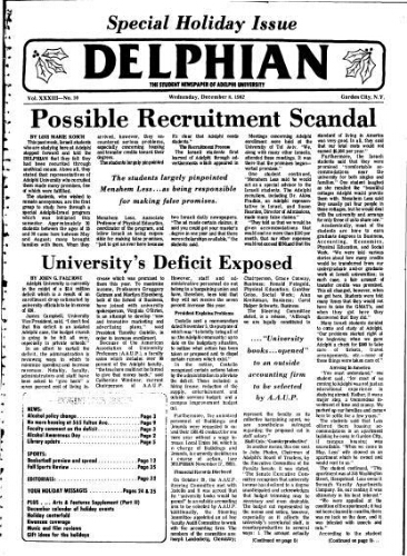 The Delphian, December 08, 1982