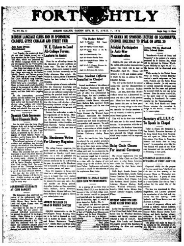 Fortnightly April 09, 1936