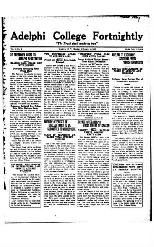Fortnightly February 15, 1926