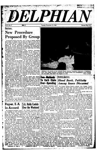 The Delphian, November 15, 1960