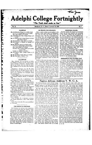 Fortnightly January 12, 1923