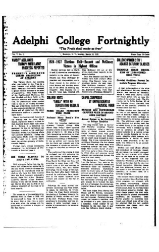 Fortnightly March 22, 1926