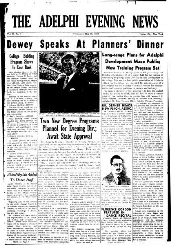 Adelphi Evening News 1952-11-21