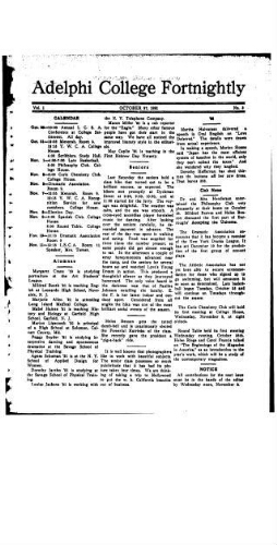 Fortnightly October 27, 1921
