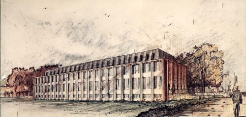 Hagedorn Hall of Enterprise, architectural rendering
