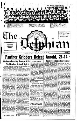 The Delphian, October 25, 1951
